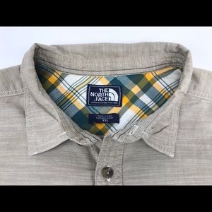 The North Face Button Up Shirt XXL Long Sleeve